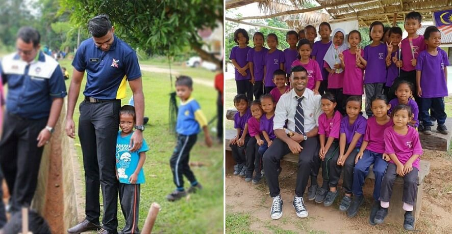 This Teacher's Dedication Towards Teaching Orang Asli Is An Inspiration To All Of Us - WORLD OF BUZZ