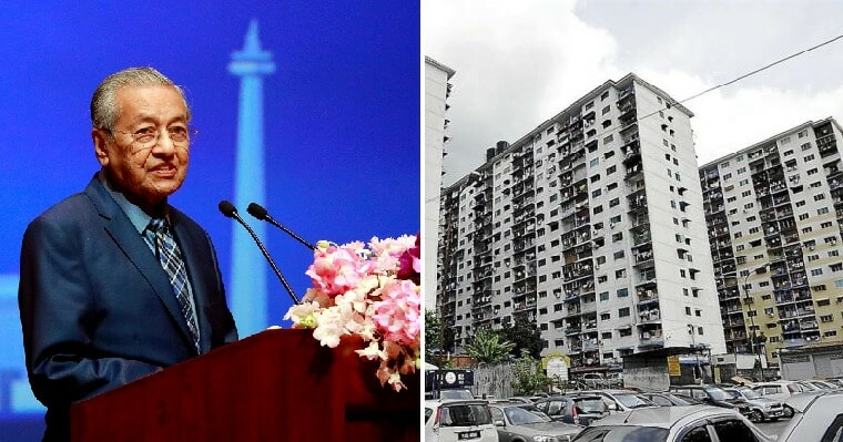 Tun M: 100,000 Affordable Homes Will Be Built By End of 2019 for Malaysians - WORLD OF BUZZ 2