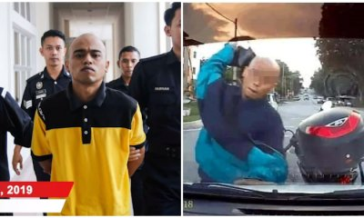 UPDATE: Motorcyclist Who Smashed Serdang Driver's Windscreen Sentenced to 12 Months in Jail - WORLD OF BUZZ 1