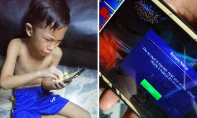 Watch: Boy Cries As His Mobile Legend Account Is Banned For 10,949 Days, - World Of Buzz 1