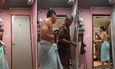 Watch: M'sian Guy Got Locked in the Bathroom and Called Abang Bomba to Help Open the Door - WORLD OF BUZZ 1