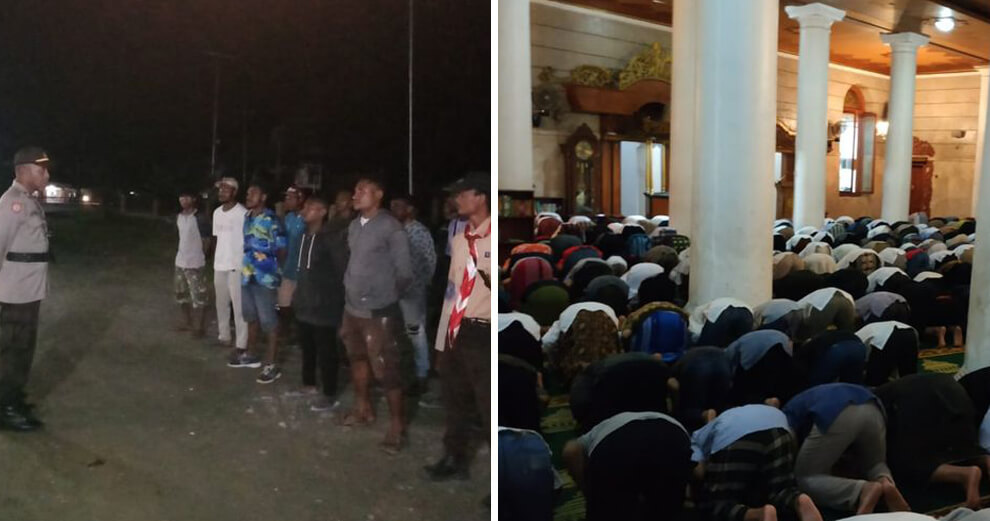 Will Melt Your Heart Solat Tarawih Papua Christians - WORLD OF BUZZ