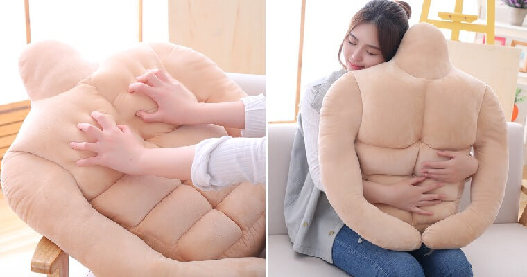 You Can Now Buy a Muscular BF Pillow with Six-Pack Abs For All The Cuddles You Want! - WORLD OF BUZZ 5