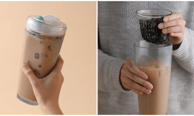 You Can Now Drink Bubble Tea & Save the Environment With This New Straw-less Boba Cup - WORLD OF BUZZ