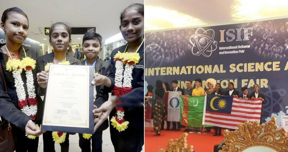 12Yo Students Made Malaysia Proud By Winning Gold For Their Inventions In International Science Fair - World Of Buzz