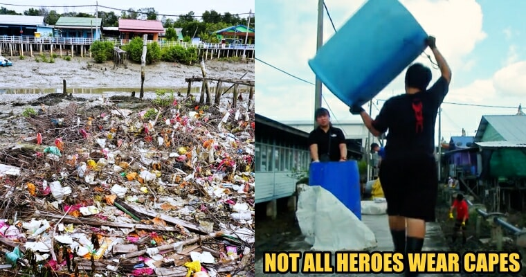 200 Volunteers Collected Garbage At Pulau Ketam To Help Clean The Environment - World Of Buzz 1