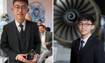 22yo Malaysian's Fuel-Saving Invention Landed Him Prestigious Internship at Rolls-Royce in the UK - WORLD OF BUZZ 1