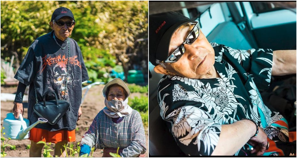 84Yo Japanese Grandpa Becomes Ig Influencer After Grandson Dresses Him - World Of Buzz 2