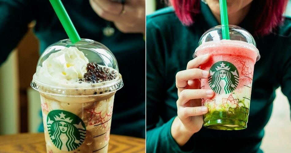 Starbucks Just Released 2 New Summer Drinks & One Has Boba-like Coffee Spheres - WORLD OF BUZZ