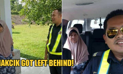 This 70yo Makcik Left Behind at R&R by Son Who Only Realised She Was Missing 200km Away - WORLD OF BUZZ