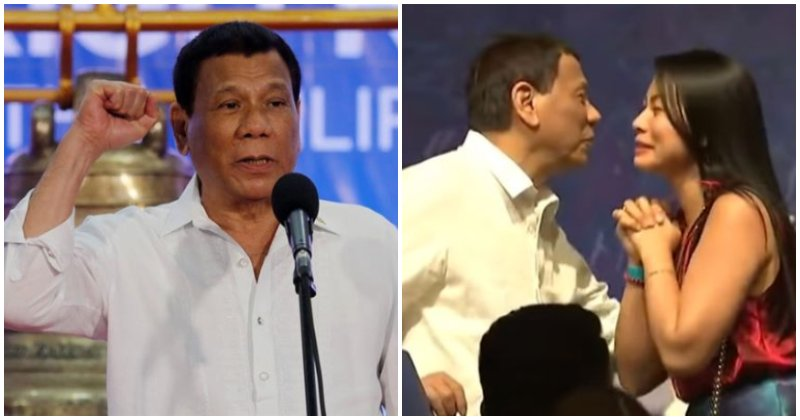 Duterte 'used To Be Gay', Kissed Woman On Stage To Prove That He's Cured - World Of Buzz