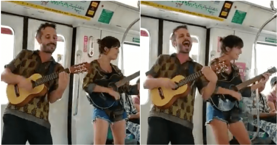 Begpackers Spotted Performing Illegally In Mrt, Sparked Anger Among Netizens - World Of Buzz 5
