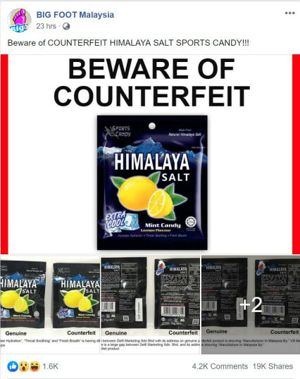 Beware: People are Selling Fake Himalaya Salt Candy In Malaysia - WORLD OF BUZZ 2