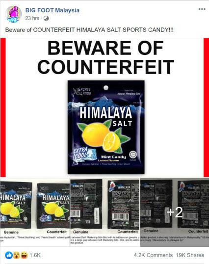Beware: People Are Selling Fake Himalaya Salt Candy In Malaysia - World Of Buzz 2