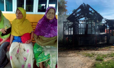 Home of 3 Blind Elderly Sisters Burned Down by Nephew After Refusing to Lend Him RM50 to Sniff Glue - WORLD OF BUZZ