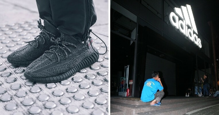 Devoted Father Queues for 3 Days to Buy Over RM1,000 Adidas Sneakers for Son - WORLD OF BUZZ 3