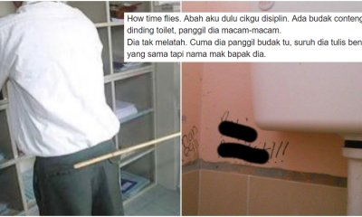 Ex Malaysian Discipline Teacher's Alternative Punishment Gets Praised After He Chose Not To Cane Student - WORLD OF BUZZ