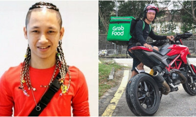 Grabfood Rider Uses a Ducati Superbike to Deliver Food and Netizens are Impressed - WORLD OF BUZZ