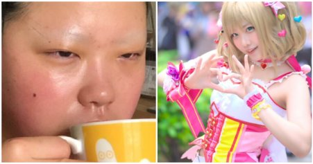 Japanese Cosplayer's Before & After Transformation Takes Twitter By Storm, Gets Praised For Great Skin - WORLD OF BUZZ 2