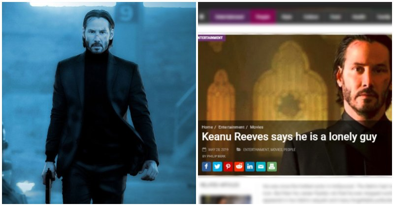 Keanu Reeves Denies Speaking To The Star, Representatives Say Interview Was Fabricated - World Of Buzz