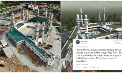 Kelantan's New Mosque Gets Mixed Vibes, Majority Thinks That Money Can Be Used Elsewhere - WORLD OF BUZZ