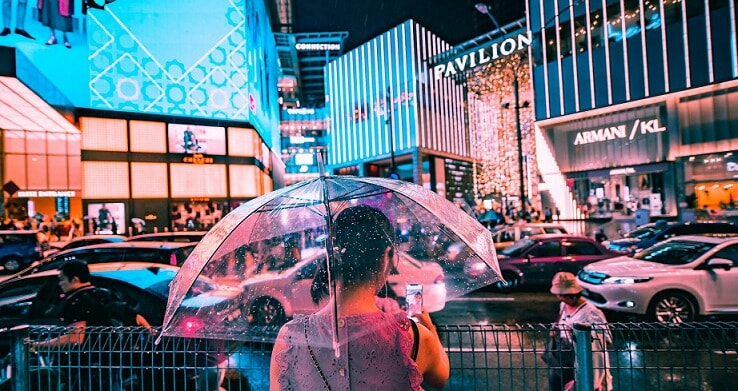 Local Photographer Gives Bukit Bintang A Cyberpunk Twist That's So Good You'd Wish It Was Real Life - World Of Buzz 9