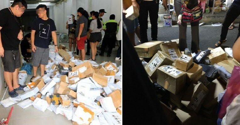 "Malaysian Vendors Are Selling ""Unclaimed Delivery Parcels"" as Mystery Packages But It Could Be a Scam - WORLD OF BUZZ 2"