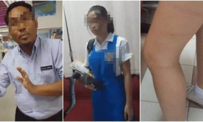 "Malaysians are Supporting Teacher Who Caned Schoolgirl for Calling Him ""Pondan"" - WORLD OF BUZZ"
