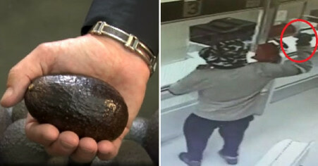 Man Actually Manages to Rob Two Banks Of RM32,000 By Using An Avocado - WORLD OF BUZZ 1
