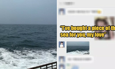 Man Paid Over RM400,000 for Piece of Sea As Belated Present for His Girlfriend - WORLD OF BUZZ
