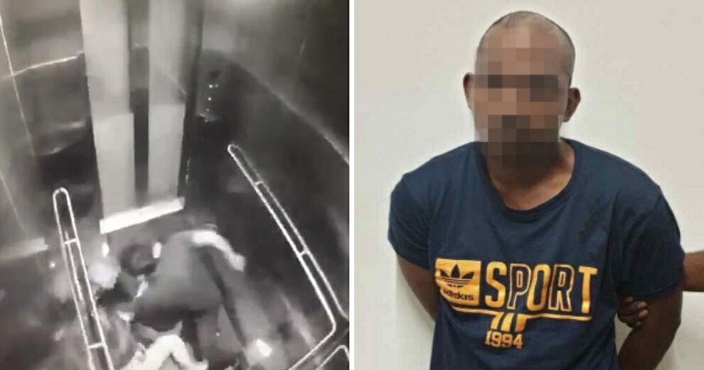Man Who Brutally Attacked Cheras Woman At Cheras Mrt Elevator In February Sentenced To 18 Years In Jail - World Of Buzz 2