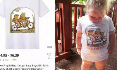 "Mother Buys Cartoon T-Shirt for Daughter, Surprised to See ""F*CK THE POLICE"" Slogan When It Arrives - WORLD OF BUZZ 2"