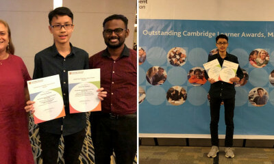 M'sian Student Receives Cambridge Award For Getting Highest Score in the World For Maths & Add Maths - WORLD OF BUZZ 2
