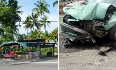 M'sian With No Licence Under Influence Of Drugs & Alcohol Kills Nasi Lemak Seller After Crashing into Stall - WORLD OF BUZZ 1