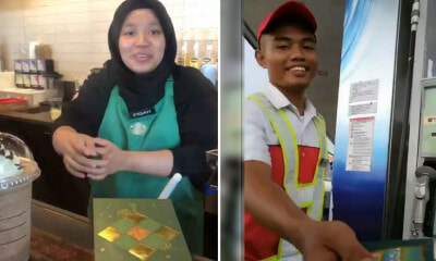 M'sians Are Giving Out 'Duit Raya' to Petrol Station Workers, Baristas & Waiters This Festive Season - WORLD OF BUZZ