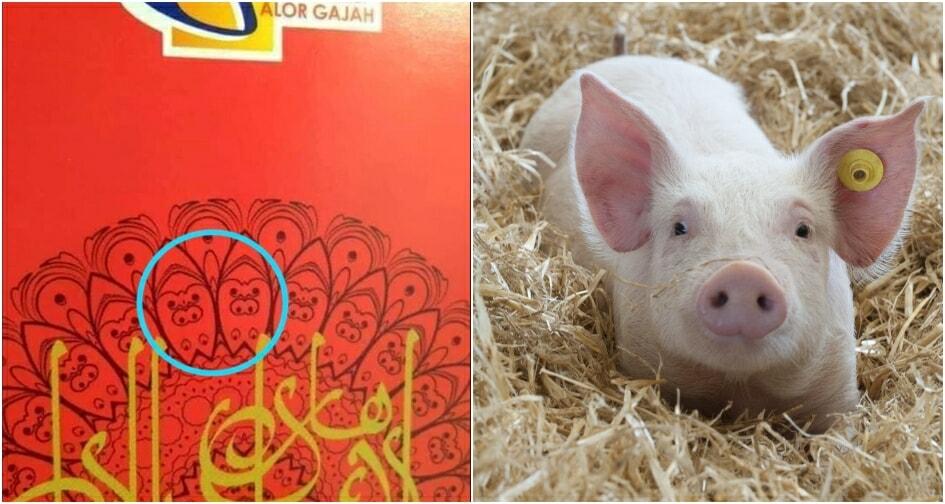 Netizen Sees Pig Design On 'duit Raya' Packet Given By Melaka Gov't - World Of Buzz