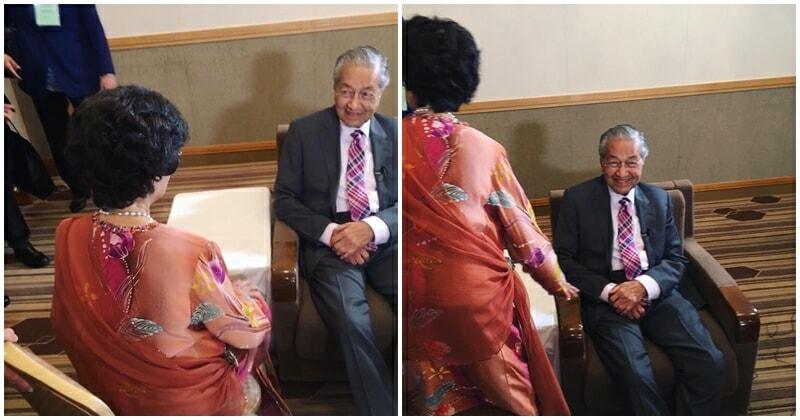 Netizen Shares Mahathir-Hasmah Relationship Goals That Will Make You Go Aww - WORLD OF BUZZ