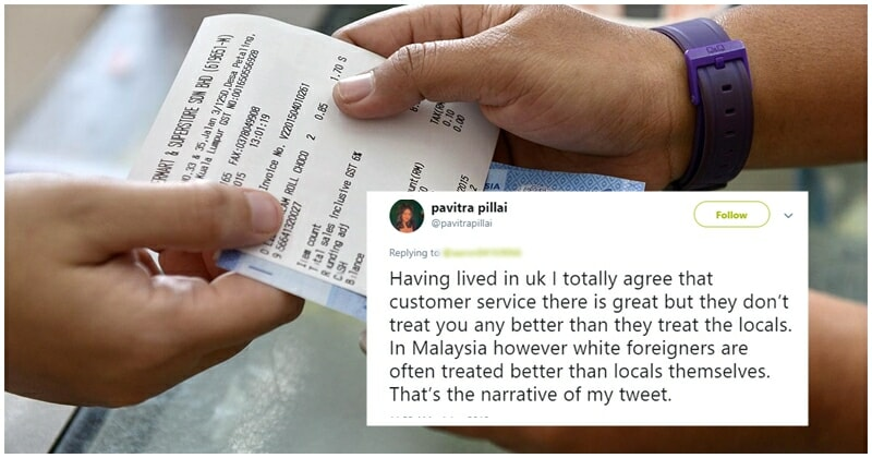 Netizen Slams Malaysian Attitude Of White Worshipping, Thinks That Everyone Deserves To Be Treated Equally - World Of Buzz