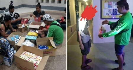 Netizens Inspired By Grabfood Riders Who Bought Food For The Homeless Using Their Own Money World Of Buzz 6 E1559619289690