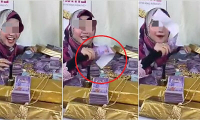 Online Entrepreneur Kantoi Showing Off Using Fake Money During Her FB Live - WORLD OF BUZZ 4
