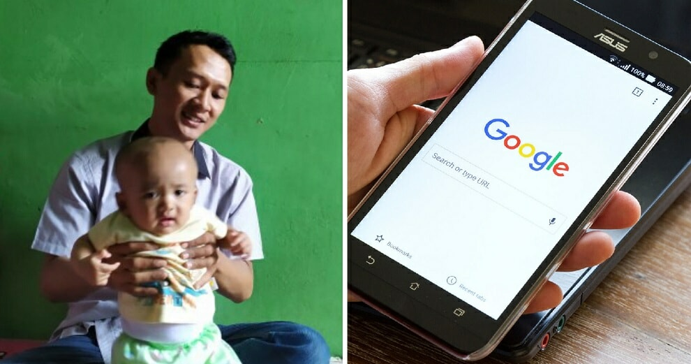Parents Decide to Name Their Son 'Google' So That He Will Be A Helpful Person When He Grows Up - WORLD OF BUZZ 1