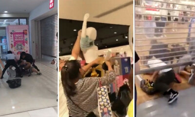 People Are So Hyped Over The KAWS x Uniqlo Collection That They're Fighting & Stripping Mannequins - WORLD OF BUZZ