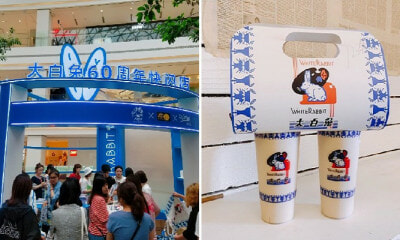 Scalpers Are Selling White Rabbit Bubble Tea At RM289 Due to 4-Hour Queue at Pop-Up Store - WORLD OF BUZZ 9