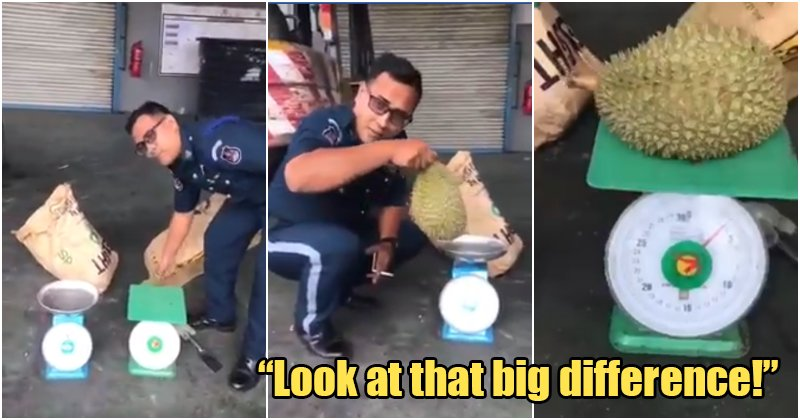 Scammers Tamper With Weighing Scales, Cheats Durian Loving Customers By Charging More - WORLD OF BUZZ 4