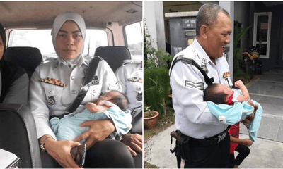 Shah Alam Police Caught Family Of 5 Riding A Motorbike, Help Send Kids Home Instead Of Punishing Them - WORLD OF BUZZ 4