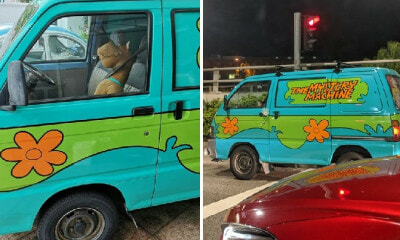 Somebody Transformed Their Van Into Scooby-Doo's Mystery Machine & We're Feeling Nostalgic! - WORLD OF BUZZ