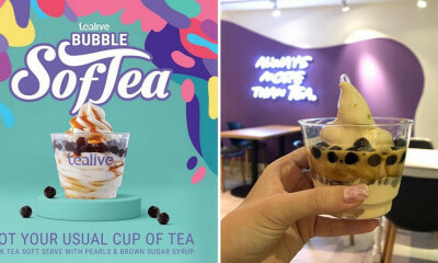 Tealive Now Has Brown Sugar Bubble Tea Soft Serve & They're Exclusively Available At These Outlets! - WORLD OF BUZZ