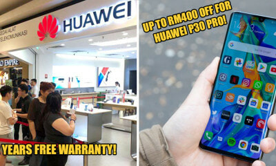 [Test] HUAWEI is Giving Out 2 Years Warranty! - WORLD OF BUZZ 4