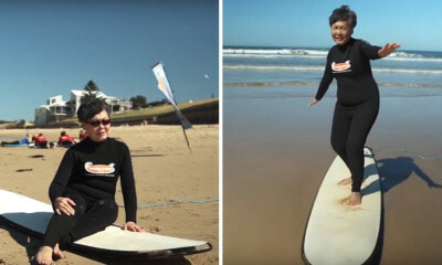 [Test] Watch: This Video of an Ah Ma Surfing in Melbourne is 'Making Waves' Across Social Media! - WORLD OF BUZZ