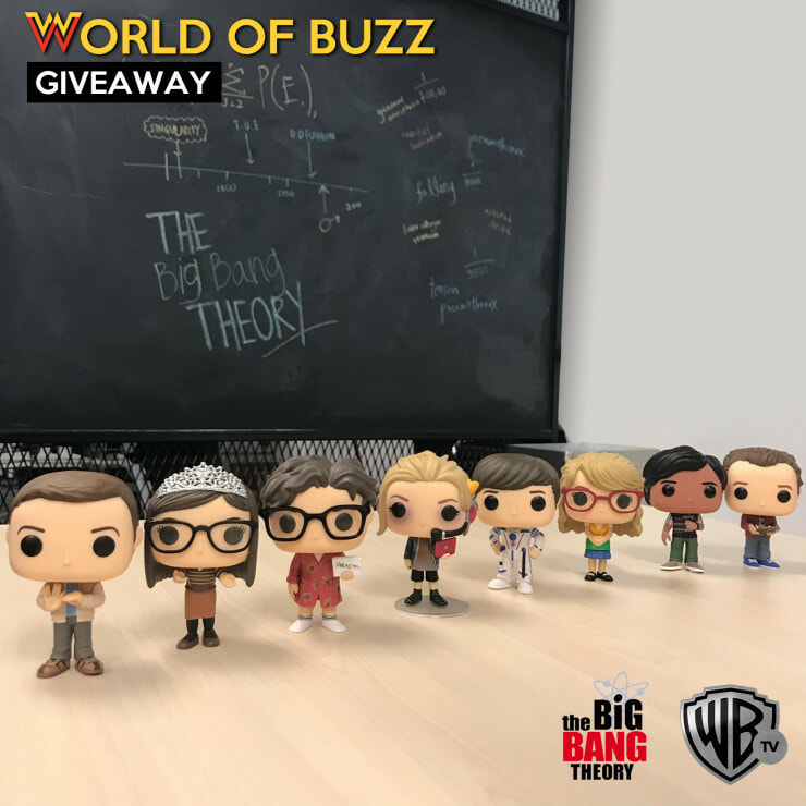 The Big Bang Theory Funko Pop Dolls Contest Giveaway - WORLD OF BUZZ